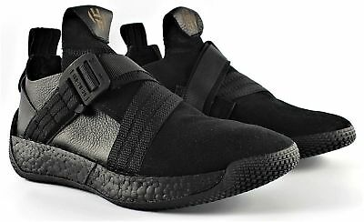 e55631a8ecab Nib Mens Adidas F33831 Harden Ls 2 Buckle Basketball Shoes Sneakers Black   180 • 84.50