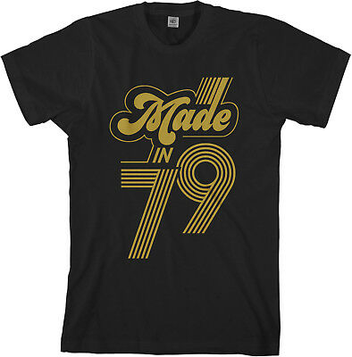 Made In 1979 Mens T Shirt 40th Birthday Party Gift Idea O 1199