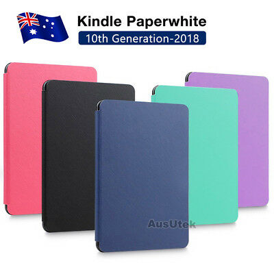 AU10.25 • Buy Flip Leather Folio Case Cover Magnetic For Amazon KINDLE Paperwhite 10th 2018