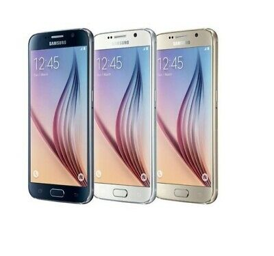 $ CDN114.77 • Buy Samsung Galaxy S6 G920A (AT&T) 32GB 64GB Unlocked T-Mobile Smartphone Cell Phone