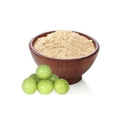 Pure Amla Powder Indian Gooseberry Powder Natural Long & Smooth Hair From India • 7.99£