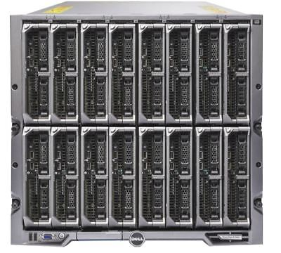 $12094.06 • Buy Dell PowerEdge M1000E Chassis With 16x M620 Blade Server 32x E5-2609 512GB Ram