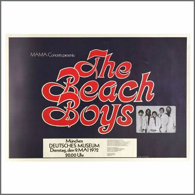 £275 • Buy The Beach Boys 1972 Munich Concert Poster (Germany)