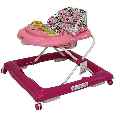 ISafe First Steps Baby Walker Push Along With Music Activity Toy Tray • 29.95£