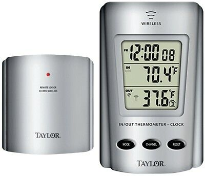 $14.49 • Buy NEW Taylor 1730 Wireless Digital Indoor/Outdoor Thermometer REMOTE 8771537