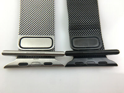 $ CDN164.05 • Buy Original Apple Watch Series 6 5 4 3 2 1 Stainless Steel Strap Milanese Loop Band