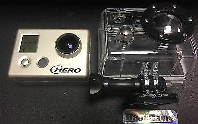 AU245.55 • Buy Gopro HD Hero Helmet Camera Motorsports Surf Cam 1080p Used Working 5mp+Extras