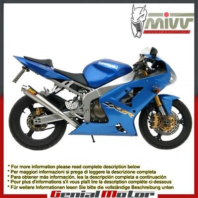 $256.88 • Buy Mivv Exhaust Muffler X-cone Stainless Steel For Kawasaki Zx-6 R 636 2003 > 2004