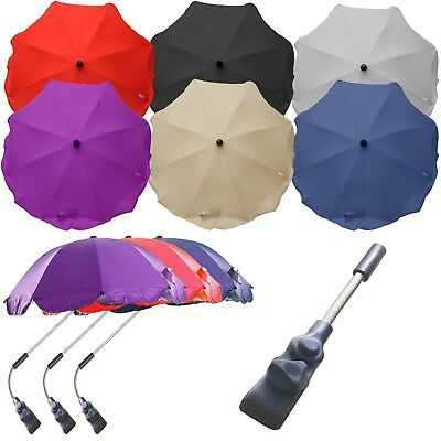 Parasol Compatible With ICandy Range - Black,Grey,Cream,Red,Navy & Purple! • 12.95£