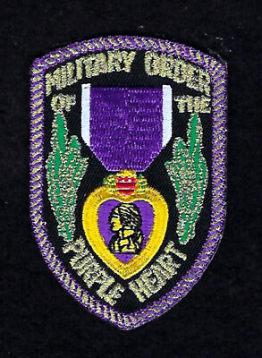 $9.88 • Buy Military Order Of The Purple Heart Hat Patch Combat Wounded Pin Up Us Military