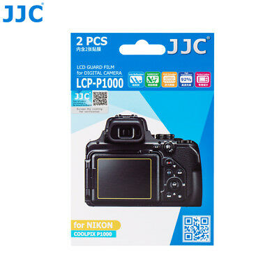 AU7.45 • Buy JJC 2pcs PET LCD Guard Film Camera Screen Protector For Nikon COOLPIX P1000