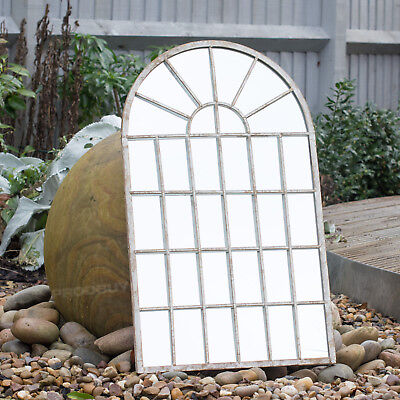 £44.99 • Buy Wall Mounted Arched Window Mirror Arch Gothic Outdoor Garden Vintage Rustic Home