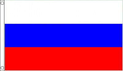 RUSSIA FLAG 5' X 3' Russian Federation Europe USSR Soviet Union • 5.99£
