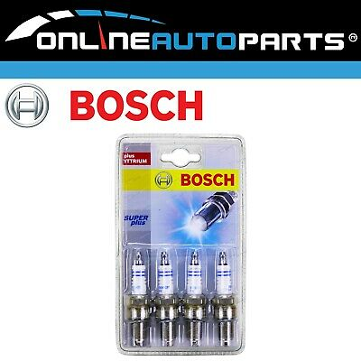 AU7.65 • Buy Bosch Spark Plug Set Holden Rodeo TFR17 TFS17 2.6L 4ZE1 88~98 4cyl 2559cc Engine