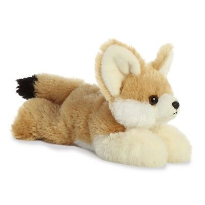 New Aurora 8  Flopsies Plush Fennec Fox Cuddly Soft Toy Teddy • 7.99£