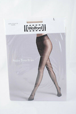 Wolford ~ SATIN TOUCH 20 ~ Nude Tights BNWT ~ Large UK 16/18  • 18.99£