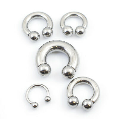 $13.75 • Buy Horseshoe Jewelry Made Of Surgical Steel Multiple Gauges And Sizes Available