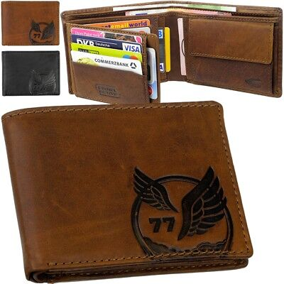 Camel Active Eagle Purse Wallet Rfid Eagle Cowboy Wallet • 42.19£