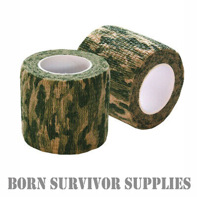 £6.95 • Buy KOMBAT UK STEALTH TAPE MTP CAMO - Multicam Sniper Camouflage Airsoft Rifle Wrap