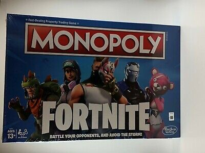 $16.85 • Buy Monopoly: Fortnite Limited Edition Board Game Game Night New Factory Sealed