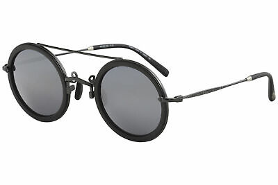 1d759ebd9 Matsuda Men's M3039 M/3039 RTM Ruthenium/Black Fashion Round Sunglasses  49mm • 550.00