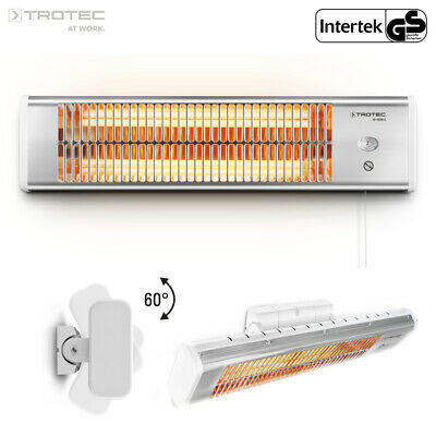 TROTEC Infrared Radiant Heater IR 1200 S | Heating Panel | Outdoor | Terrace • 26.95£