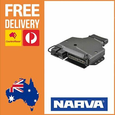 AU43.98 • Buy Narva 7 Pin Flat Trailer Plug Socket With 50A Anderson Battery Socket 82048BL
