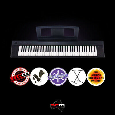 AU599 • Buy Yamaha NP32 76 Key Portable Digital Piano With Adaptor & Stand 5 Year Warranty
