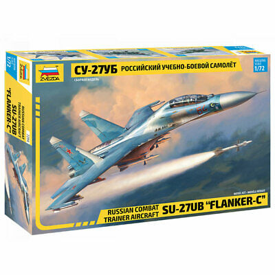 ZVEZDA 7294 Sukhoi SU-27UB 1:72 Aircraft Model Kit • 20.67£