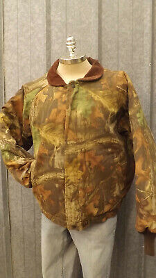 £51.30 • Buy Vtg NEW Walls Outdoors Realtree Advantage Timber Camo Quilted Jacket XL Hunting