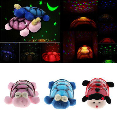 Night Light Star Projector Toy With Music Lighting Lamp For Baby Sleeping • 12.25£