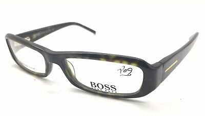 ac84f2eddcc Hugo Boss 0042 U 0086 Tortoise Italy Eyeglasses Frame 51-15-125mm NEW