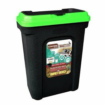 £15.99 • Buy 30l Pet Food Container Dog Cat Animal 15kg Dry Feed Seed Storage Box Bin & Scoop