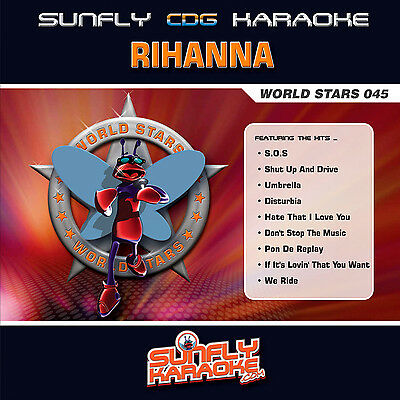 AU24.99 • Buy Rihanna Sunfly Karaoke Cd+g - World Stars