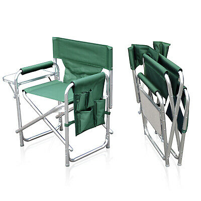 £56.95 • Buy Sun Leisure® Folding Alloy Sports Directors Chair, 3 Colours, Strong And Sturdy