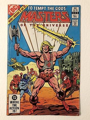 $11 • Buy Masters Of The Universe  To Temp The Gods  1 Of 3 Mini Series #1 Comic1986