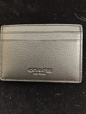 new style 9c16c 60997 Wallets, Card Cases & Money Organizers Coach Mens Money Clip Card ...