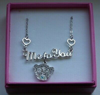 Me To You   Necklace Set With Crystal Stone`s   New & Boxed 2 Beautiful Gift  • 15£