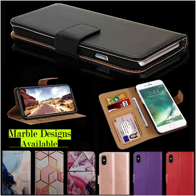 Case For IPhone 12 11 8 7 6 5 Plus Pro MAX XR X Luxury Leather Flip Wallet Cover • 2.87£