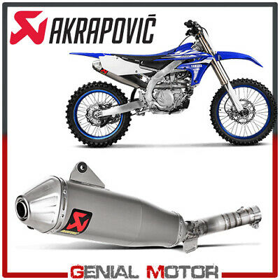 AU803.07 • Buy Exhaust Titanium Approved Muffler Akrapovic For Yamaha YZ 450 F 2014 > 2017