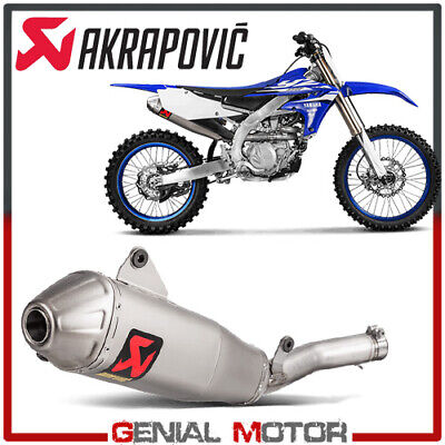 AU962.54 • Buy Exhaust Titanium Approved Muffler Akrapovic For Yamaha YZ 450 F 2018 > 2019