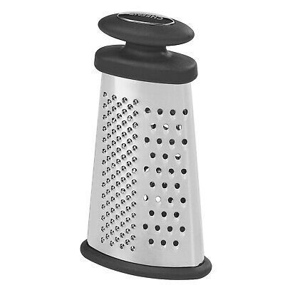 3 Sided Stainless Steel Grater Nutmeg Spice Lemon Citrus Zester Cheese Ginger  • 3.49£