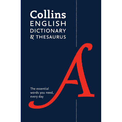 £5 • Buy Collins English Dictionary And Thesaurus By Collins (Paperback), Books, New