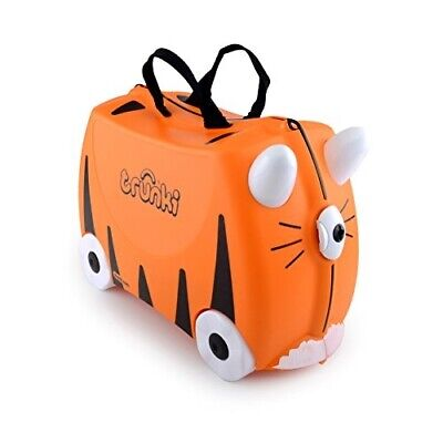 View Details Ride-On Suitcase Trunki Luggage Kids Travel Gear Tipu (Orange) • 73.32$