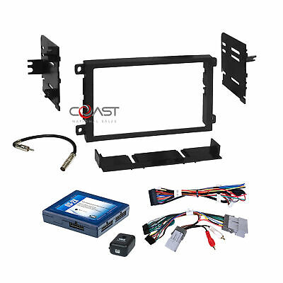 $99.95 • Buy Car Radio Stereo Dash Kit Onstar Bose Harness For 2000-up GM GMC Chevrolet Cad