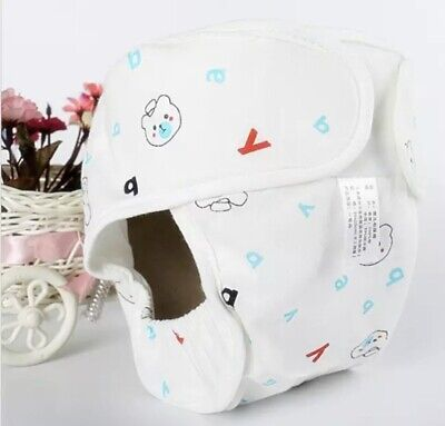 Baby Cotton Diaper Nappy Reuseable Washable Cloth Newborn Waterproof Nappy. • 9.99£