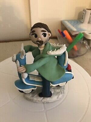Scooter Themed Cake Topper Decorations • 18.99£
