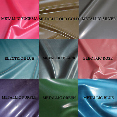 £5.50 • Buy 0.40mm Gauge Metallic/Electric Sheet Latex/Rubber By Continuous Metre, 1m Width