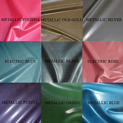 £4.50 • Buy 0.25mm Gauge Metallic/Electric Sheet Latex/Rubber By Continuous Metre, 1m Width