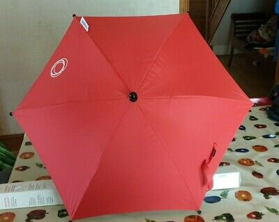 £24 • Buy Bugaboo Parasol In Neon Red  NO CLIPS INCLUDED **Free UK Postage